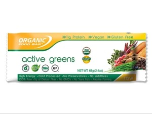 Organic Food Bar Active Greens